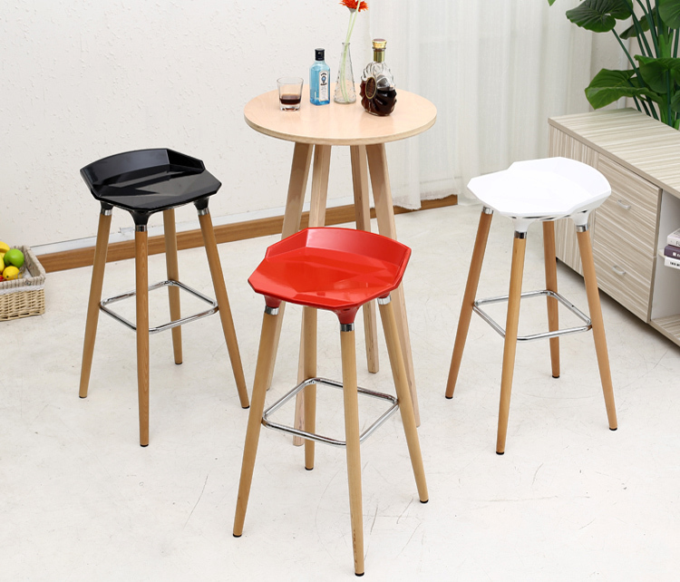 household bar chairs red black white color seat coffee stool free shipping computer office home chair furniture wholesale stools southeast asia fashion bar stool retail red white black countryside bar pastoral style stool free shipping