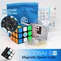 GAN 356 Air SM скоростной куб магнитный позиционный Супер Скоростной Магнето 3x3 Cubo Magico Gan356 Air SM 3x3x3 Магнитный куб магический куб