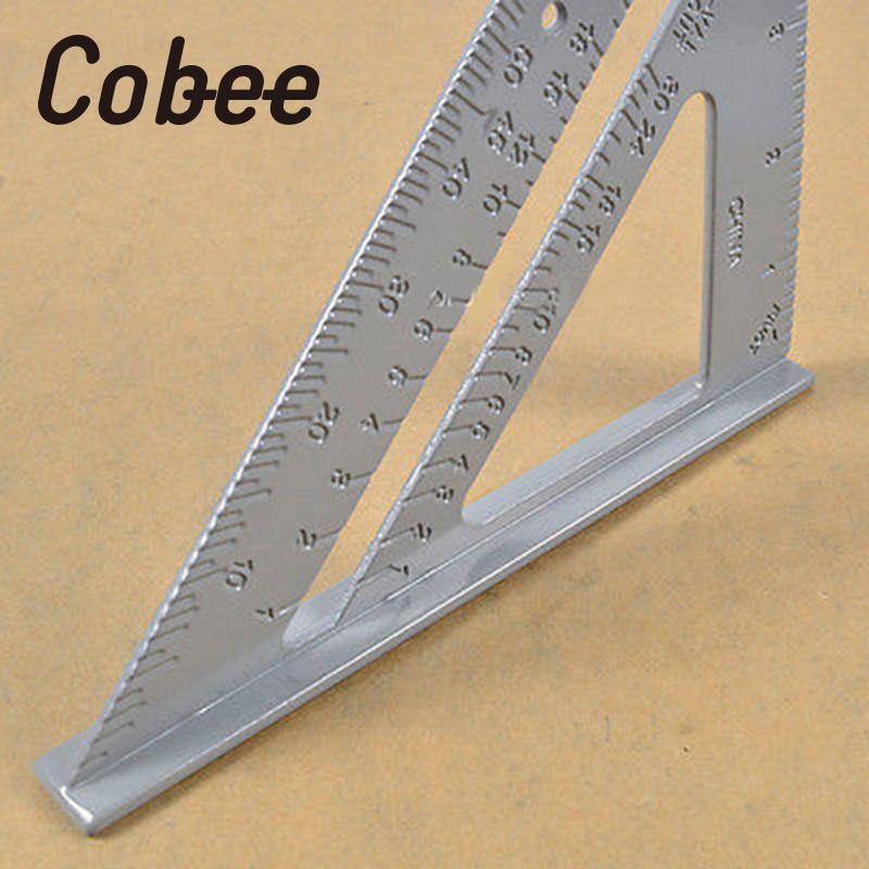 7 pulgadas Cobee aleación transportador cuadrado encuadre carpintero ...
