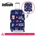 Fashion suitcase luggage covers for girls,waterproof luggage cover protector for women,dustproof trolley luggage covers travel