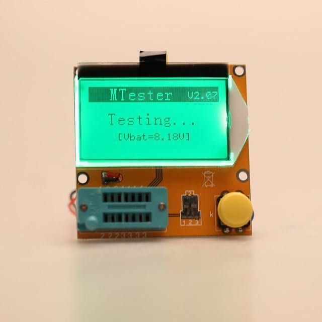 Mega328 Transistor Tester Diode Triode Capacitance resistance  ESR Meter MOS/PNP/NPN L/C/R