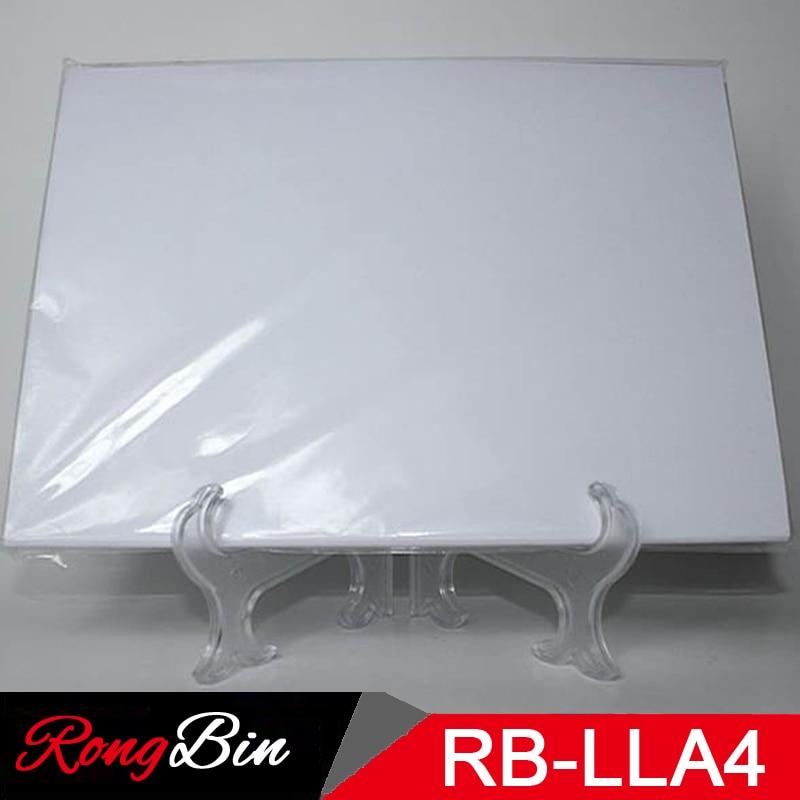 80 Sheets/Lot Sublimation Machine A4 Laser Light Transfer Paper Light Fabrics For White T-shirt Light Cotton Heat Press