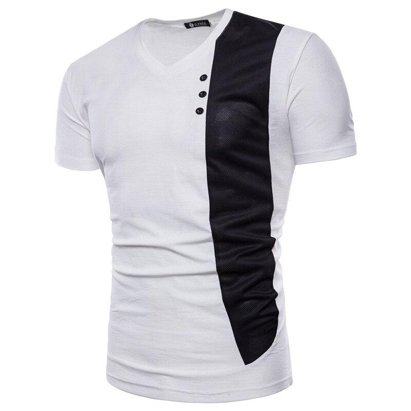 Summer Men's Fashion tshirts Casual mens clothing men Tshirt brand Short Sleeve Pullover Tops