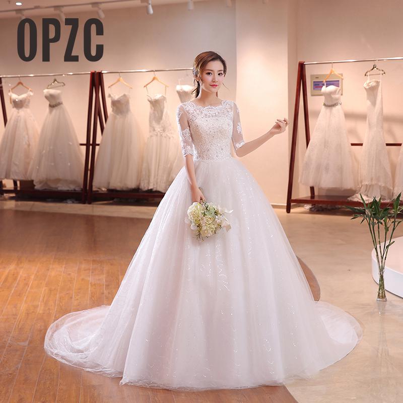 Scoop Sexy Chiffon Beach Wedding Dress 2019 Chiffon Wedding Dress Beaded Wedding Gown Casamento Vestido De