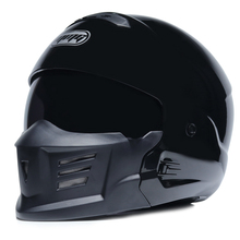 Ретро мотоциклетный шлем скорпиона локомотив индивидуальная комбинация полный шлем Композитный полушлем