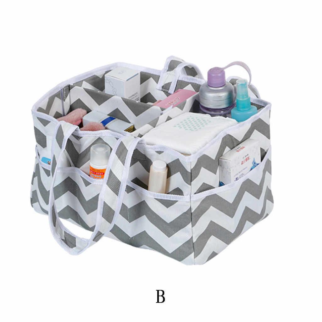 Домашняя детская сумка для хранения подгузников для матери и ребенка, сумка для хранения, косметичка органайзер, сумка с несколькими сетками, практичная