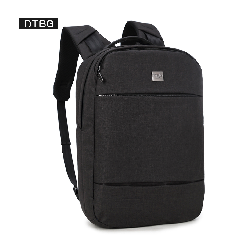 DTBG Brand Anti Theft Backpack Men Black Waterproof Solid Bag Pack Women Casual Travel Laptop Mochila School Bags For Teenager arctic hunter design backpacks men 15 6inch laptop anti theft backpack waterproof bag casual business travel school back pack