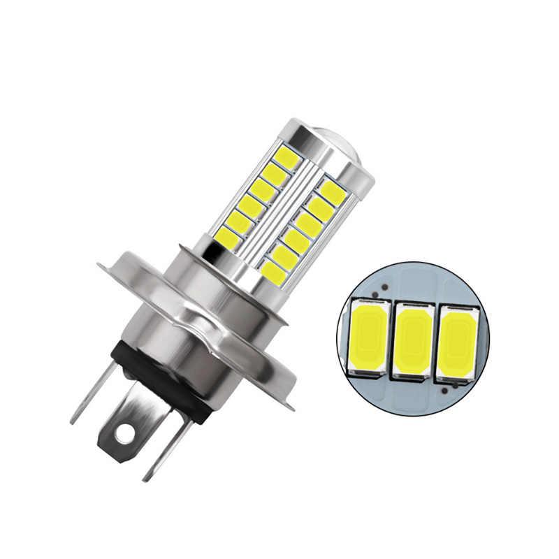 1 Pcs Opsional Lampu Mobil H4 LED H7 H8 H9 H11 9005 9006 HB3 HB4 33SMD Putih Mobil Lampu Bohlam lampu Kabut Mobil Styling