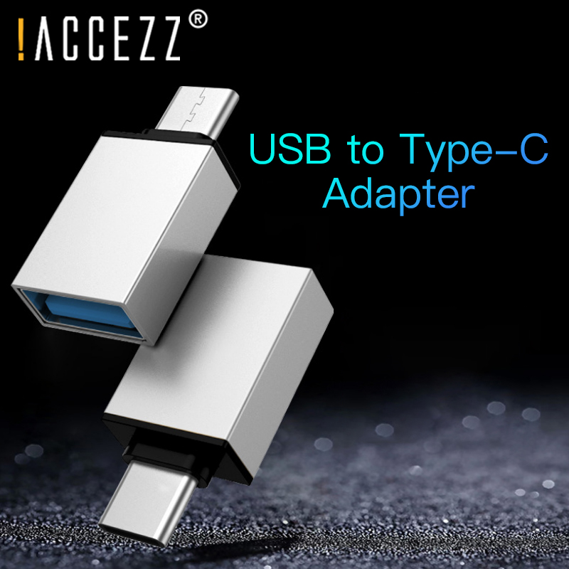 !ACCEZZ Type C OTG USB Adapter For Xiaomi Mi 5 6 8 Samsung Galaxy S8 S9 One Plus 5 For LG G5 G6 Phone Data Sync Flash Converter