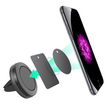 Universal Car Holder Magnetic Mini Air Vent Mount Magnet Cell Phone Mobile Holder For iPhone/Samsung GPS Bracket Stand Support