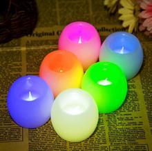 Новая свеча лампа Электронная Свеча Свадебный Бар украшения для дома Вечерние