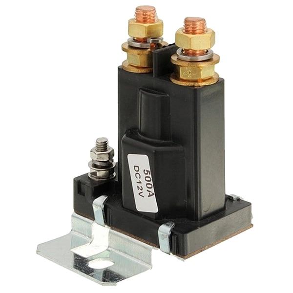Двойной аккумулятор изолятор реле на начало/ВЫКЛ 4 Pin 500A 12 В для автомобиля выключатель питания