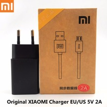 Original XIAOMI Charger EU/US 5V 2A Usb wall Adapter charger &Data cable For xiaomi redmi 4x 1s 2s 3s Note 2 3 4 MI 1 2 3 4