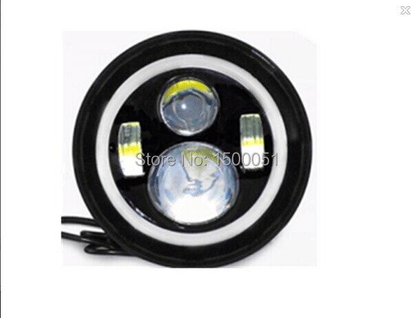 ФОТО 2pcs 7inch 45w H4 bi-xenon projector  wrangler lights led headlight blubs moing head light AAL-0145B