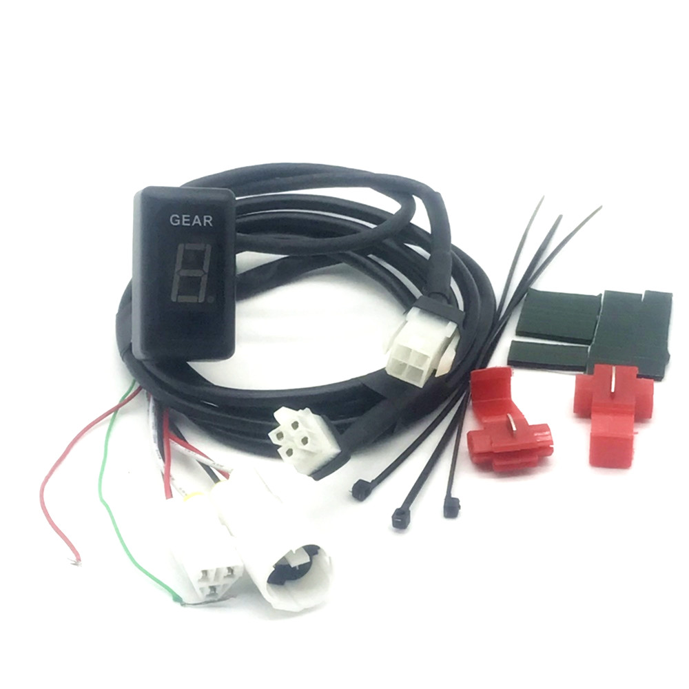 Motorcycle Gear Indicators Racing Zero Plug&Play  Motorbike Gear Indicator For  YAMAHA