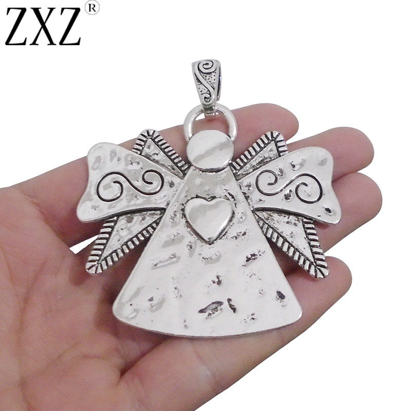 2//5Pcs Large Antique Silver Dragonfly Charms Pendant Jewelry Findings 58mm