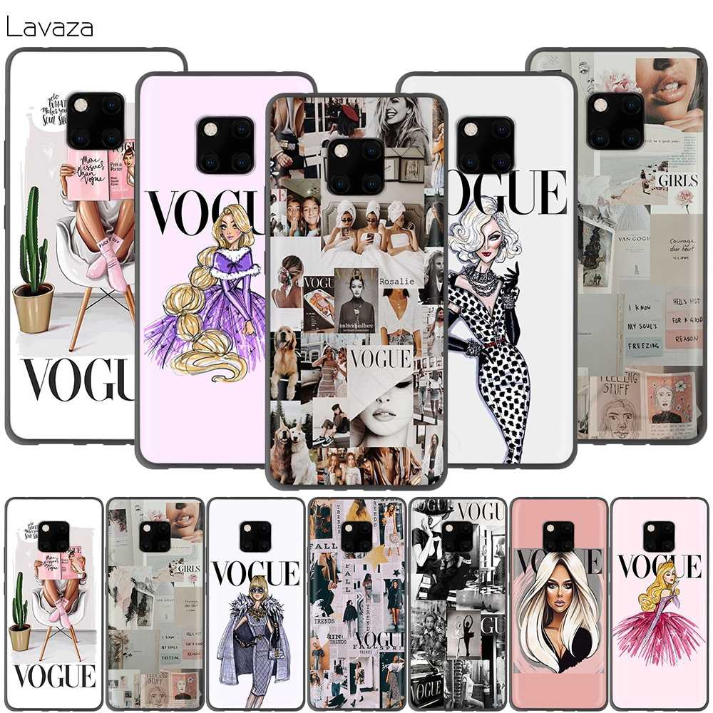 Lavaza Vogue Girl Case for Huawei P30 P20 P10 P9 P8 Mate 20 10 Pro Lite P Smart 2017