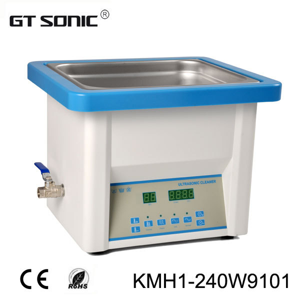 Frequency Ultrasonic Cleaner : Dental clinic ultrasonic cleaner with l cleaning bath