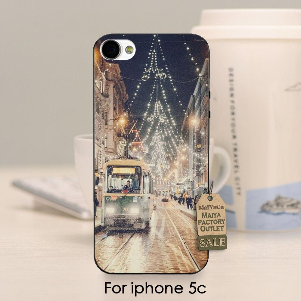④Maiyaca paisaje hermoso de la calle de la ciudad feliz Navidad ...