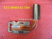 Laptop CPU Heatsink For MSI GT60 GT70 MS-16F1 MS-1761 GT660 GT660R GT660ST E31-0900332-TA9 Used 90% New