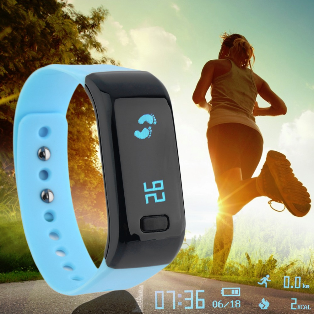 UP8 Smart Bracelet Fitness Tracker Padometer Sports Heart Rate Sleep Monitor Bra