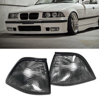 One Pair For 1992 1998 BMW E36 3 SERIES 2DR COUPE CONVERTIBLE EURO Corner Smoke Lights