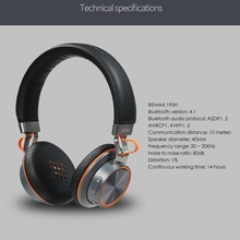 wireless Bluetooth headphone stereo Remax 195HB headset 4.1 music over the earphone with mic