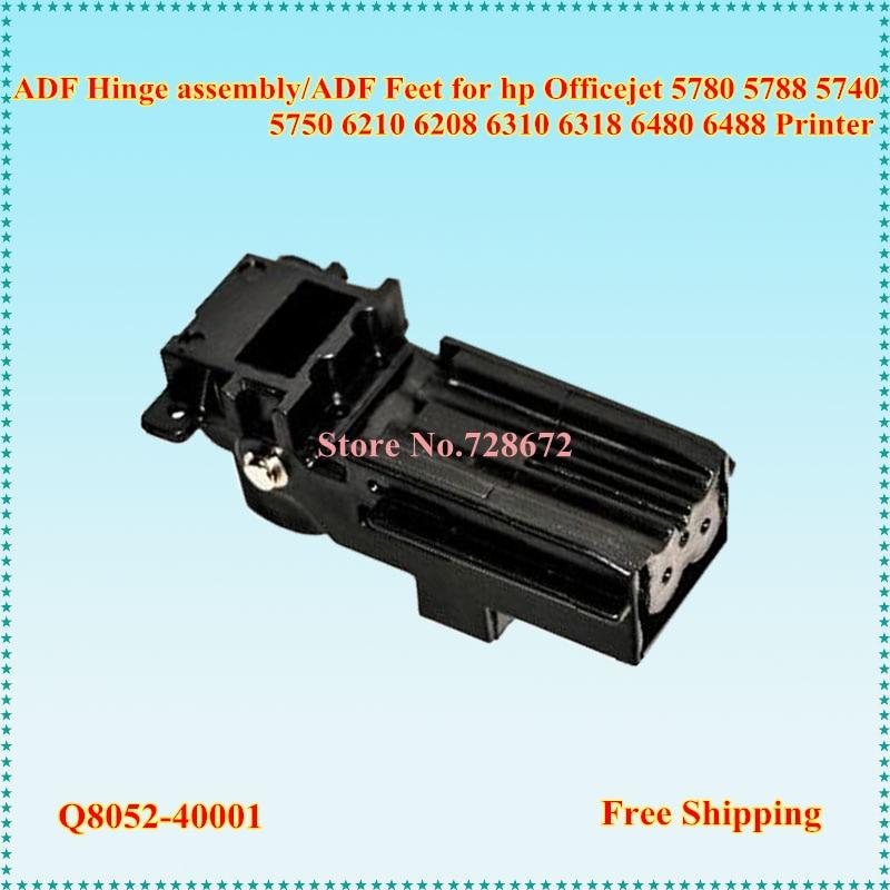 6pcs Adf Feet Q8052 40001 Adf Hinge Assembly For Hp