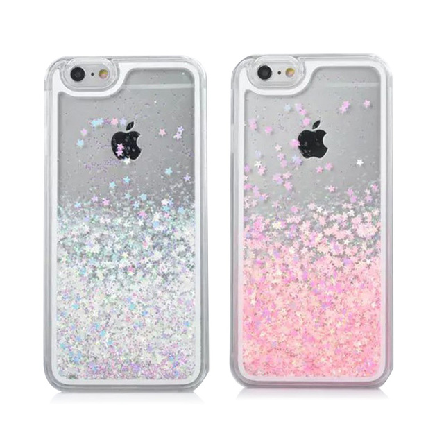 check out 409db 08259 US $3.73 |For IPhone 6 Case Transparent Hard PC Cover Dynamic Liquid  Glitter Sand 3D Stars Back Case Cover Capa Para for IPhone 6S 4.7