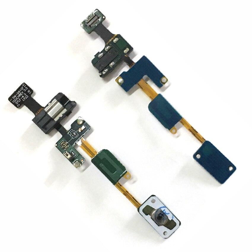 Para Samsung Galaxy J5 Prime Inicio botón Flex Cable Audio Auriculares Jack SM G570F