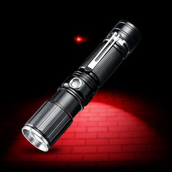 YAGE Military Flashlight for Driving Cree Lanterna Tactical Flashlights 18650 Lampe Touche Most Powerful Flashlight Red Light