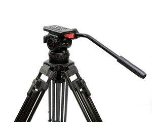 "Image 4 - Tetris TRIX 65 ""V12T profesyonel karbon Fiber Tripod Video kamera tripodu w/sıvı kafa yükü 12KG TILTA kulesi kırmızı Scarlet Epic"
