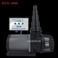 1pc DCS4000 30W series variable flow DC aquarium pump marine freshwater controllable sitting water pump