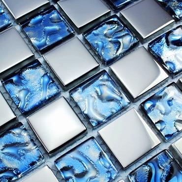 Wholesale mosaic tile 11 sheetslot sea glass backsplash