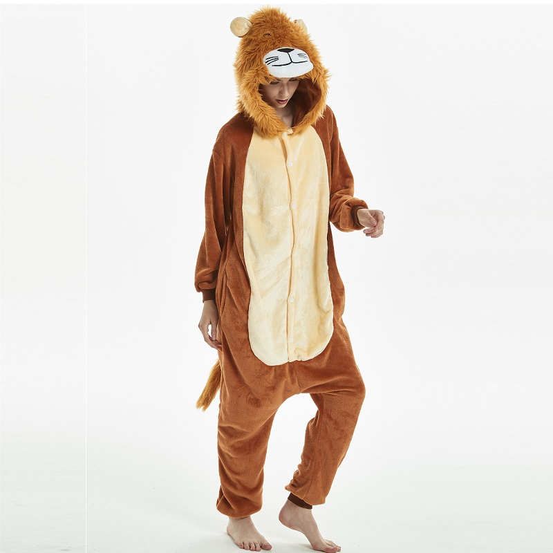 Kigurumi-Tiger-Lion-Long-Sleeve-Hooded-Onesie-Men-Women-Flannel-kigurumi-for-adults-Winter-Kegurumi-One (1)