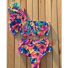 Сексуальный купальник бикини, женский купальник, пуш-ап, бикини, Бразильский бикини, набор, завязывается, летняя пляжная одежда, принт, купальник для женщин