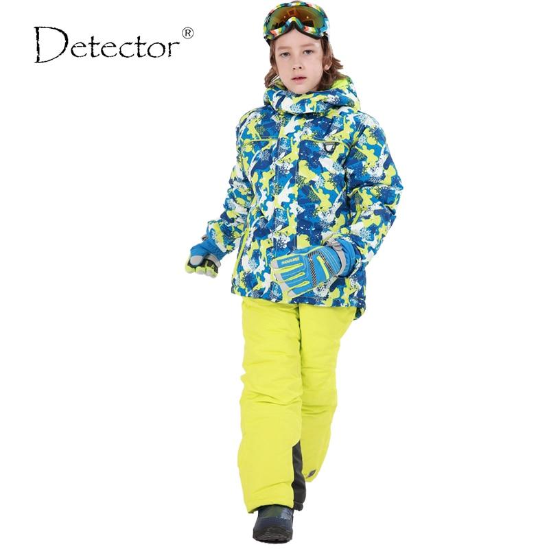 2016 New Children s Snow font b Ski b font Suits Baby Boys Girls Outdoor Wear
