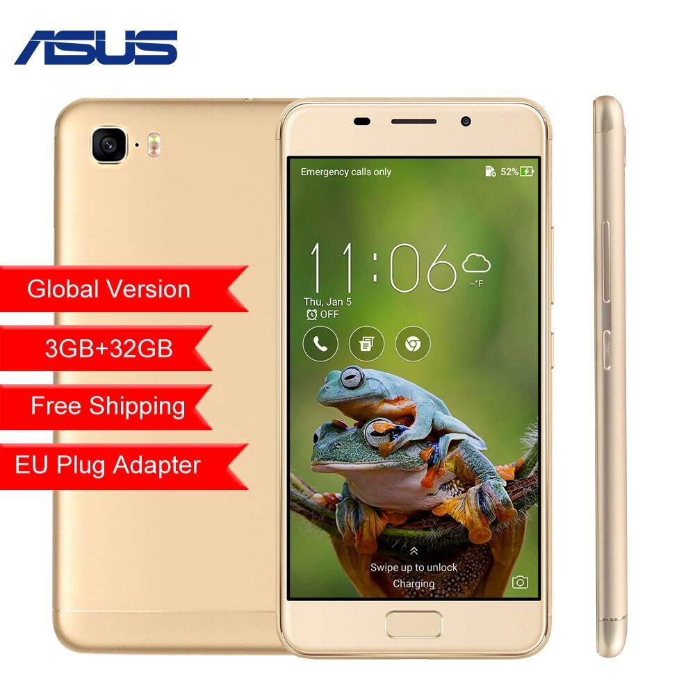 Глобальная версия ASUS Zenfone 3 S Max ZC521TL 5,2 3 ГБ 32 ГБ Восьмиядерный Android 7,0 5000 мАч мобильного телефона