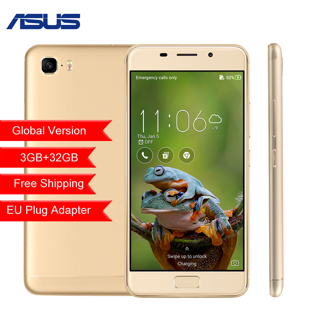 Global version ASUS Zenfone 3S Max ZC521TL 5.2 3GB 32GB Octa-core Android 7.0 5000mAh Mobile Phone