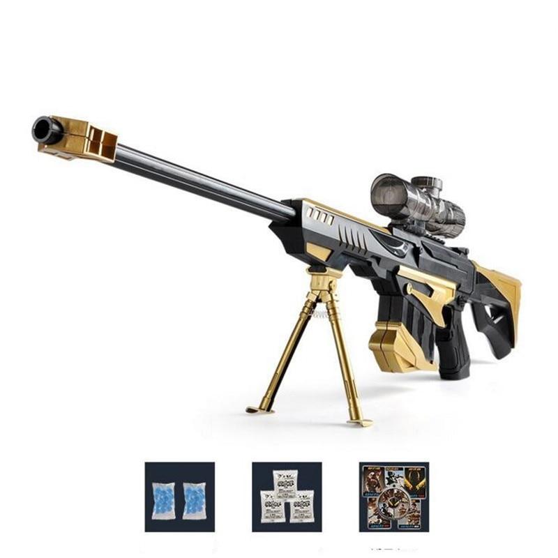 Rifle soft bullet live CS plastic ABS toys gun sniper rifle pistol water paintball gun outdoor paintball elite air soft gun toys