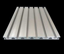 Industrial Aluminum Profile for CNC Engraving Machine Center Guide Rail Working Table