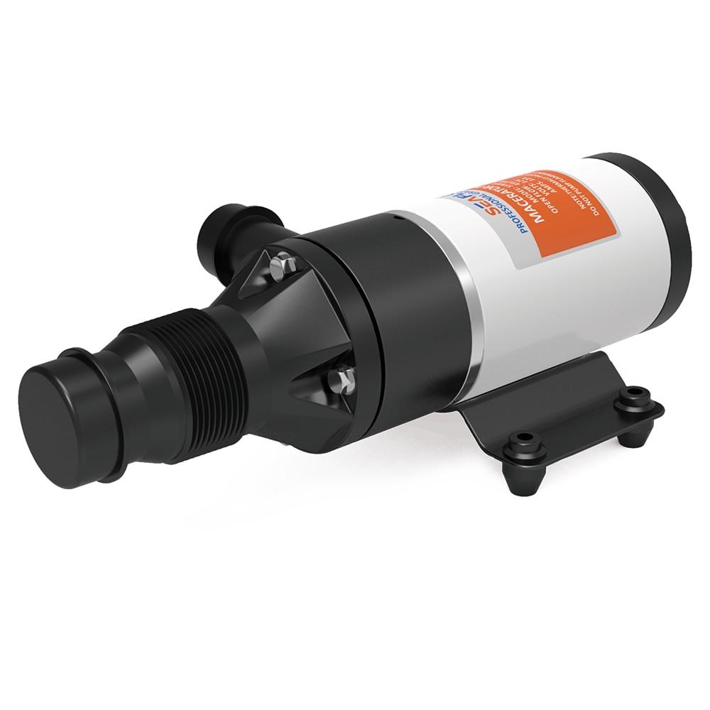 SEAFLO РВ Масераторная помпа 12 л / мин 12 Вольт отходами насос измельчение туалет в отличие от правила Shurflo бак