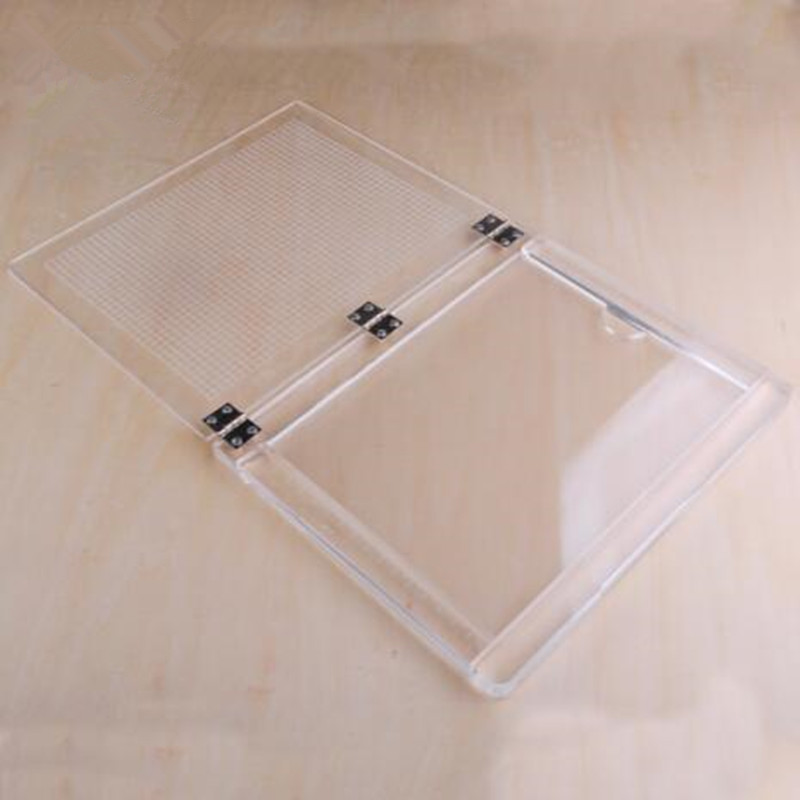 Image 3 - Notebook type acrylic positioner rubber colour process device transparent acrylic printing positioner-in Stamps from Home & Garden