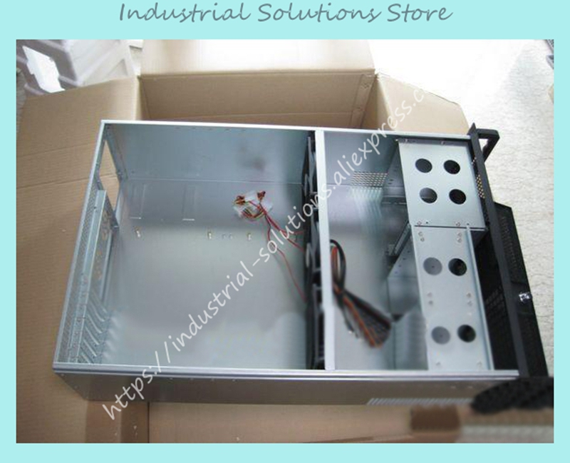 New Lengthen Type 4U Industrial Computer Case Server Motherboard new 2u lengthen server computer case 2u power supply general power supply yt23650 computer case box