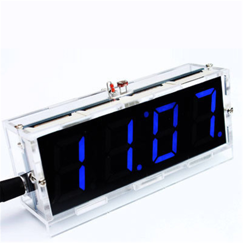 CNIKESIN-Diy-digital-clock-voice-timekeeping-clock-kits-LED-DIY-SCM-training-diy-electronic-clock-watch (2)