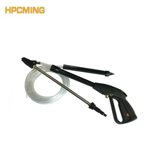 2018 New Real Gs High Pressure Cleaning Machine Plastic Gun Connected Sandblasting Hose Assembly (mobh012)