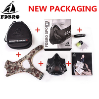 FDBRO Sports Mask 3.0 Training Elevation Fitness Workout Mask Running Cycling Jogging Cardio Gym Breathing Masks Phantom Mask