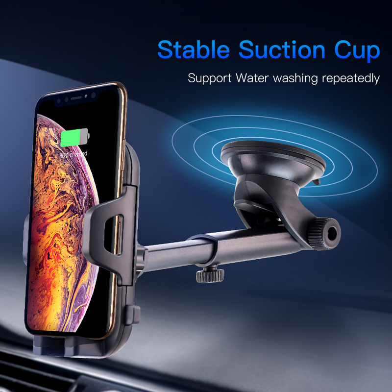 ACCEZZ Car Phone Holder Universal Smartphone Gravity Sucker Stand For iphone X 8 7 6s MAX Huawei Samsung Xiaomi Car Phone Stand in Phone Holders Stands from Cellphones Telecommunications