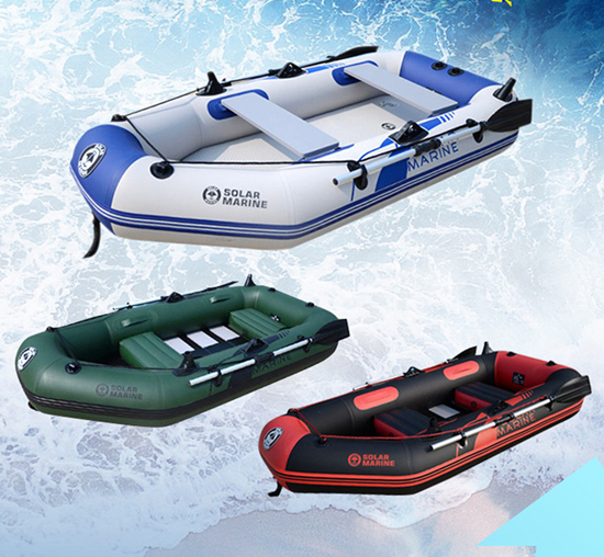 Rubber boat inflatables kayak fishing boat inflatable for Inflatable fishing boats