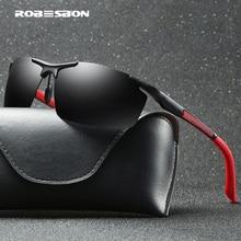 HD009 алюминиевая оправа магния солнцезащитные очки мужские Поляризованные Солнцезащитные очки женские солнцезащитные очки велосипедные солнцезащитные очки gafas de sol с чехлом